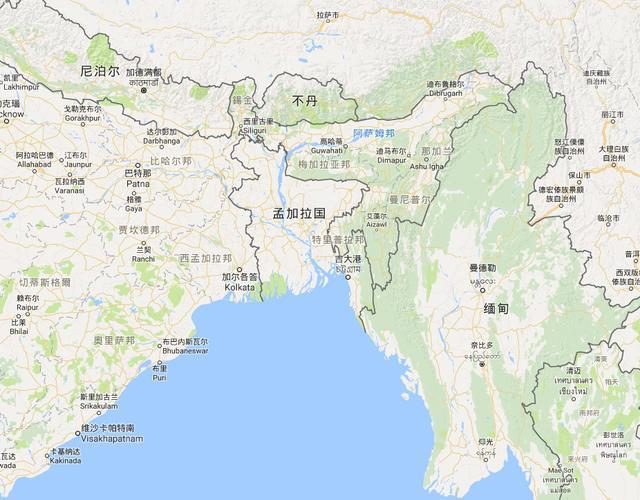 孟加拉gdp_孟加拉国领土14.7万,为何能有1.7亿人口 这是好事还是坏事