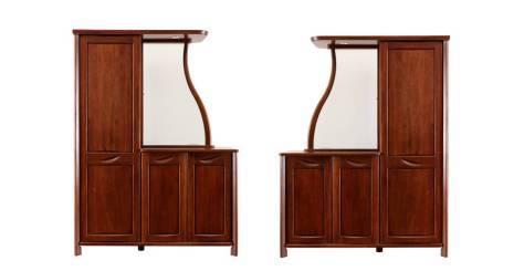 分割空间,美观实用,三款华鹤实木隔厅柜赏析