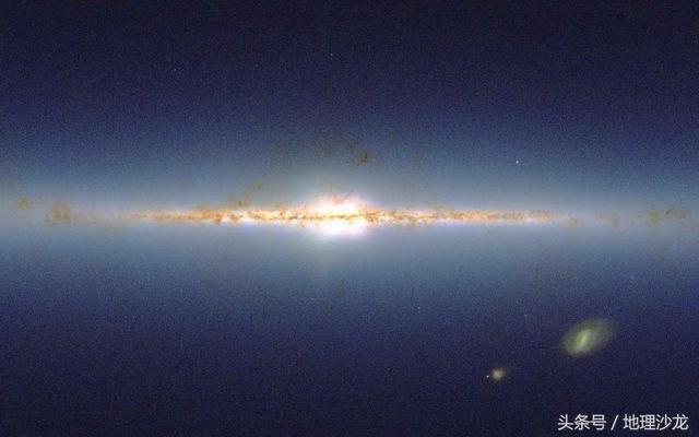 银河系的中心是什么?