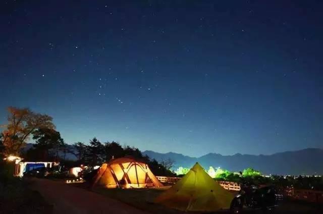 日本不容错过的露营地,支个帐篷仰望星空!