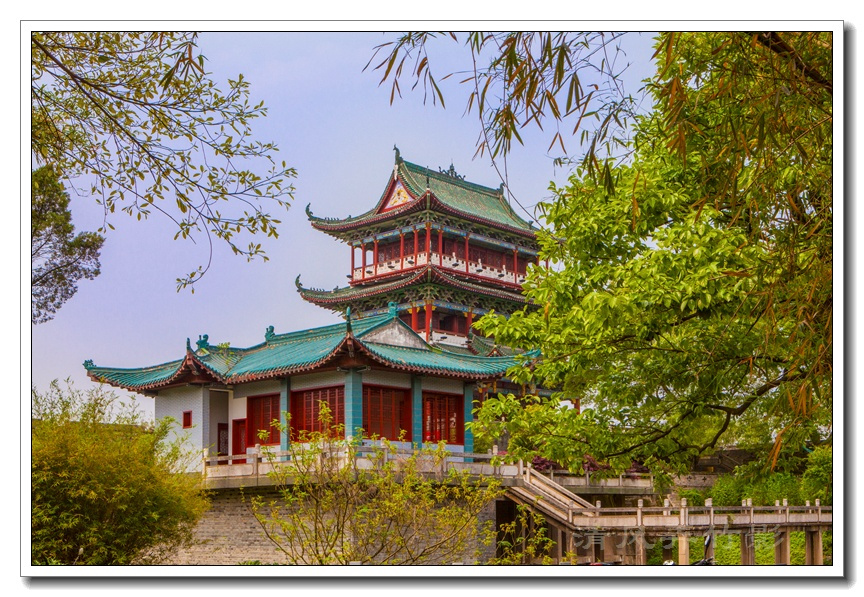 """江西赣州之三:历史古迹""""八镜台"""""""