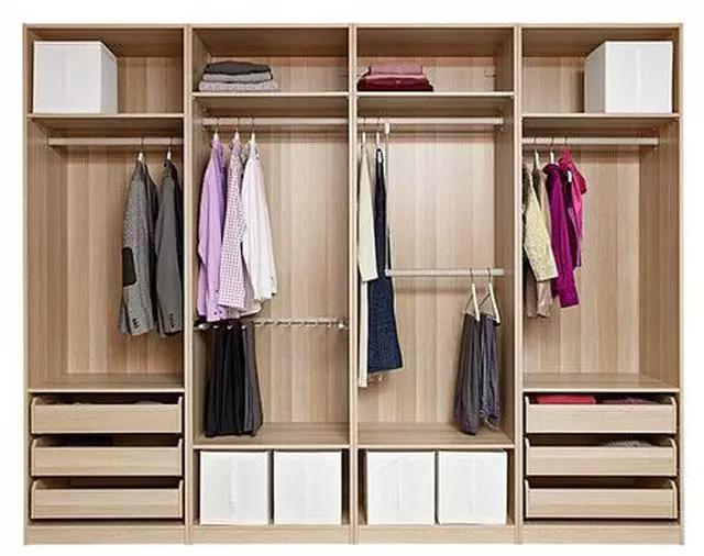 23款衣柜内部结构设计,满足你的卧室收纳需求!