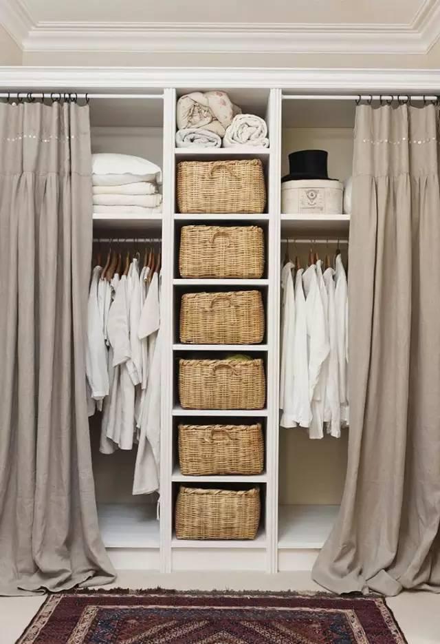 丢弃那个千篇一律的衣柜吧,这样的衣柜设计更实用!图片