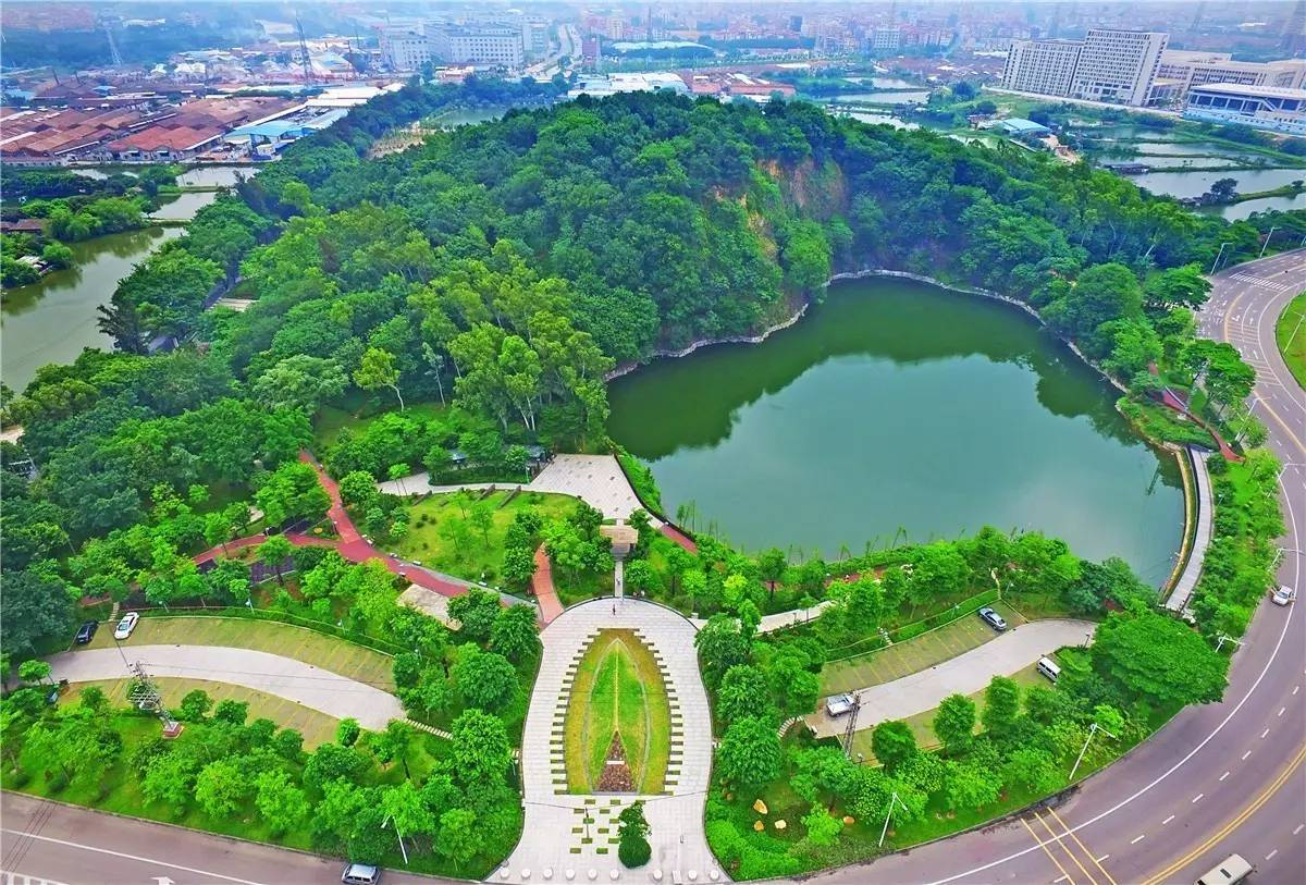 商水千亩公园规划图