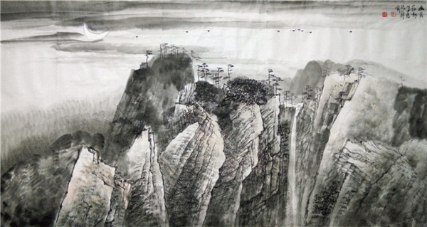 北派大气象山水画名家:李振华