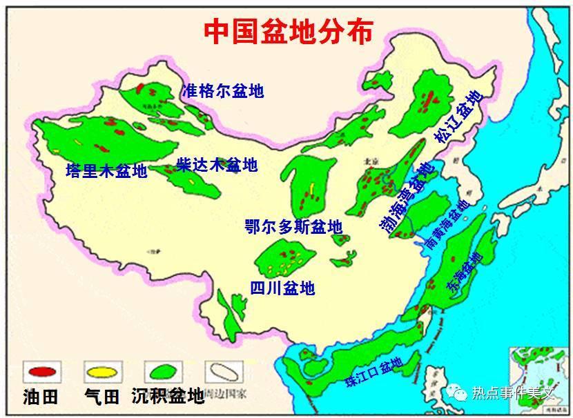 比如大庆油田就在松辽盆地,塔里木油田就在新疆的塔里木盆地,新疆图片