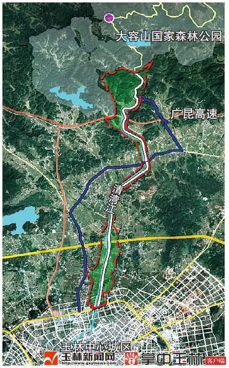 玉林市空间规划图