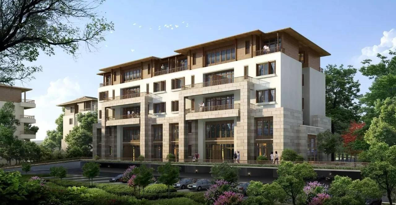 平墅:别墅和大平层的别墅融合的优点850产物平方米占地图片