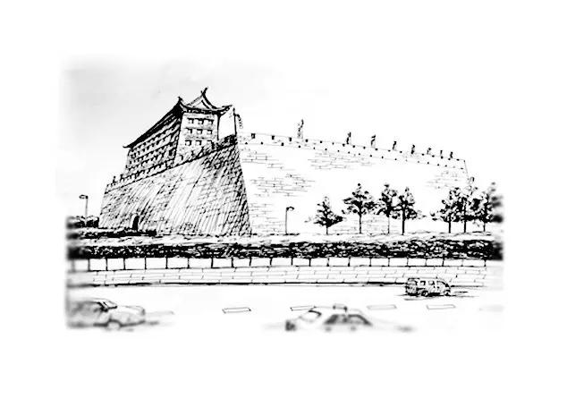 by 九儿 ▲城墙 都说不到长城非好汉,我想说,不到城墙你就别来西安了图片