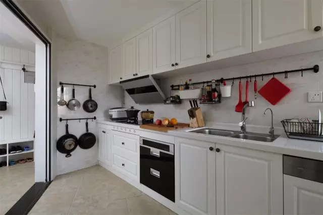厨房装修这样布局太好用了 后悔我家没按照这样装!