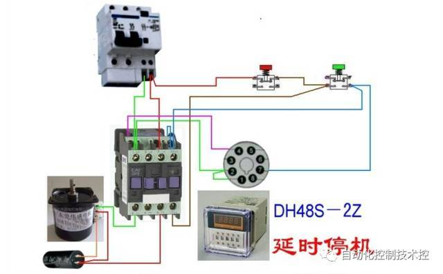 电动机常用控制线路接线150例 图片合集