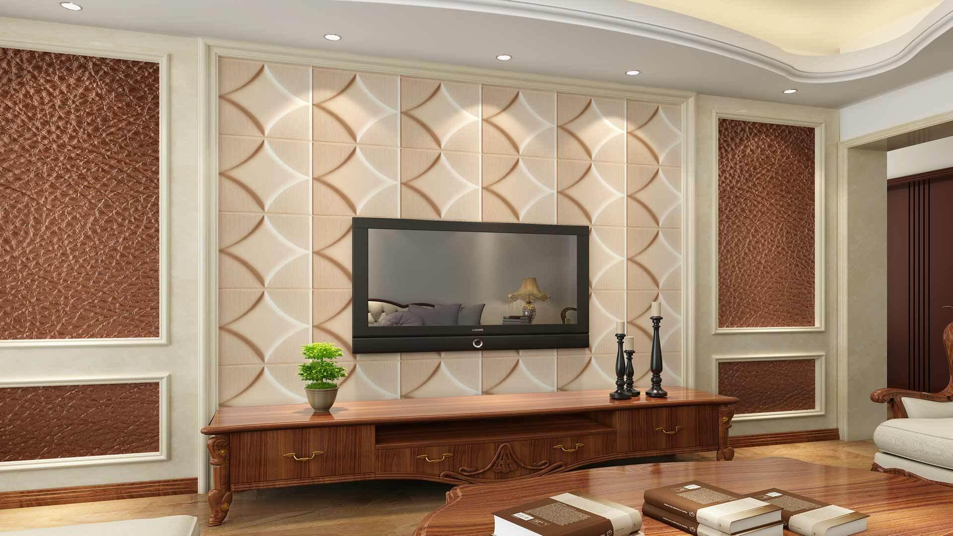 正文  在客厅装修中,电视背景墙是一个重要的装修区域,电视背景墙设计