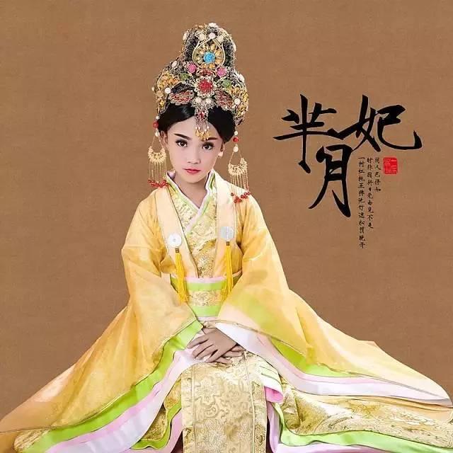 288元儿童古装写真,感受清宫汉服之美,圆每个女孩穿越