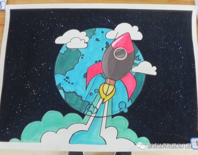遨游太空图片