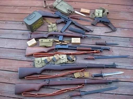 加德兰步枪图片_为何说M1式加兰德步枪是二战美国大兵的象征?