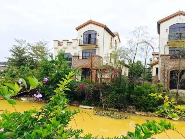 【南昆山】有个欧陆风情小镇温泉养生谷,欧式设计豪华