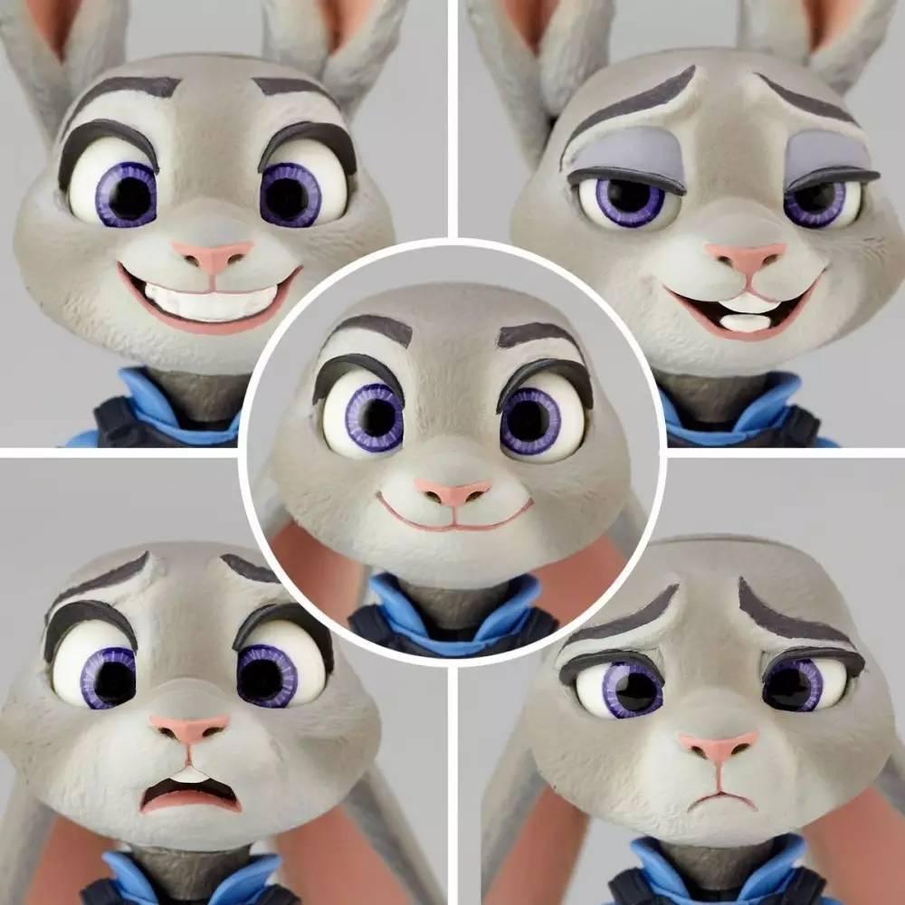 新品预告 海洋堂 山口可动 疯狂动物城 兔子朱迪
