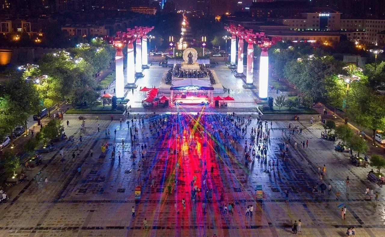 大唐不夜城音乐主题街区 | 唱响幸福新篇章,全西安,看