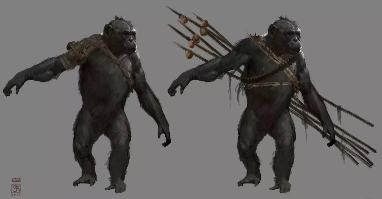 《猩球崛起3:终极之战》概设抢先看