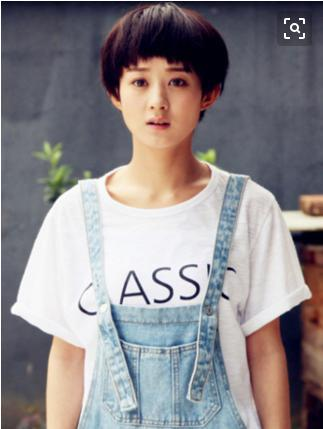 赵丽颖短发新发型美上天,网友:你是吃了可爱长大的吗?图片