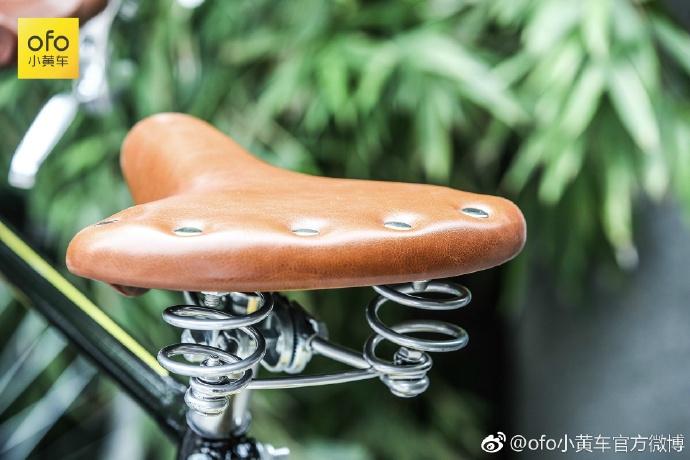 ofo与凤凰推出复古共享单车,大横梁设计让短腿望洋兴叹!