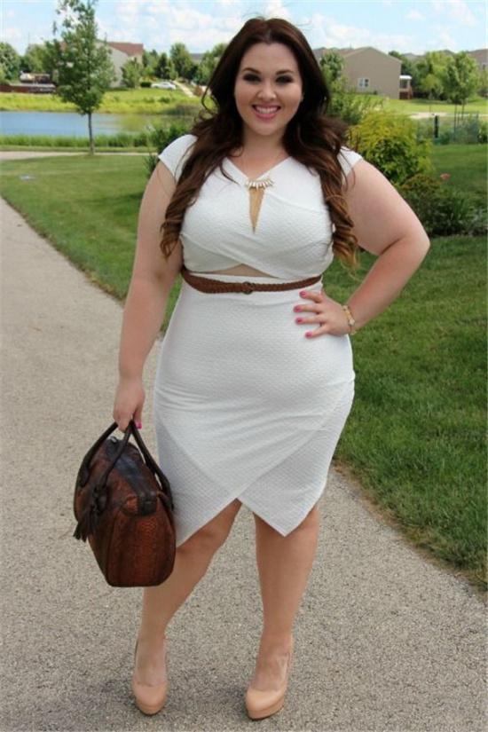高胖女生穿衣搭配技巧 胖子穿衣搭配图片
