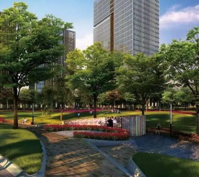 """权威投55亿!杭州首座""""公园上的城市综合体""""将在城北中心面世!建设进展戳"""