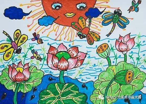 指导老师:张敏怡 j785406015 李馨悦 8岁 女 水彩画 《动物园开放日