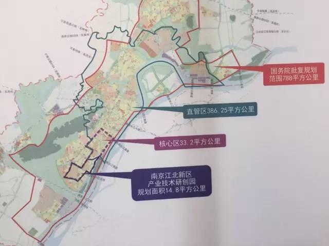 南京江北最新规划图
