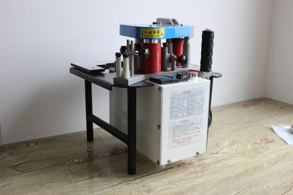 正文  应用范围:手动封边机采用国外先进技术,结构为先进的下置式胶盒
