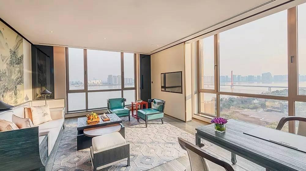 免费试住杭州顶级酒店泛海钓鱼台,¥4258元的豪华江景房任你住!