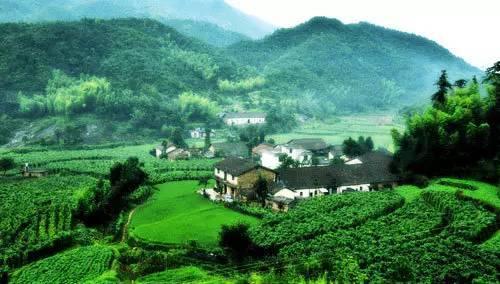 玉山有个美丽神奇的村子