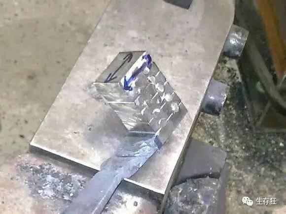 终于知道羽毛花纹钢是怎么打造的了