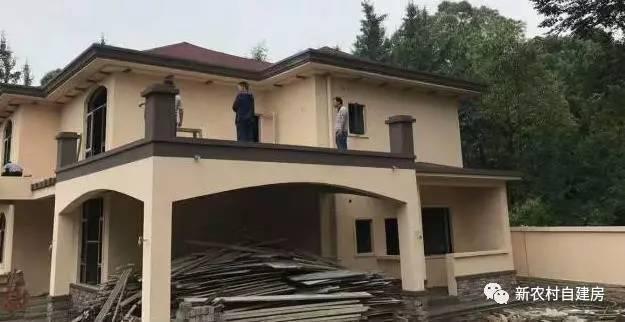 5万全包,这个农村别墅施工队太强了,建出来的效果杠杠的