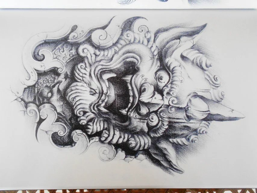 《文身的故事》新唐门纹身手稿分享