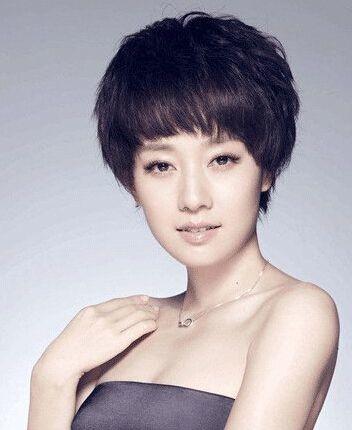 赵丽颖短发造型美到爆,六位女星谁的短发惊艳了你?图片
