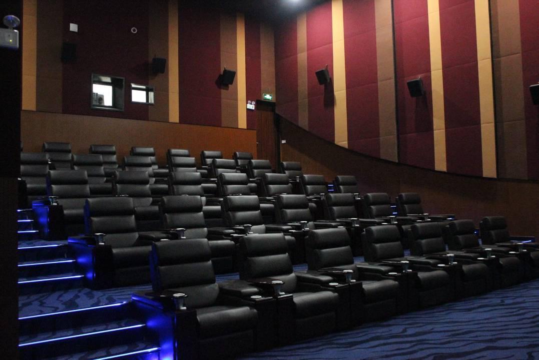 (影城实景图) 观一场电影 和爱的人悠然坐躺 承包整个vip厅  定制只