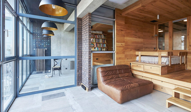 公共区域休闲地台设计