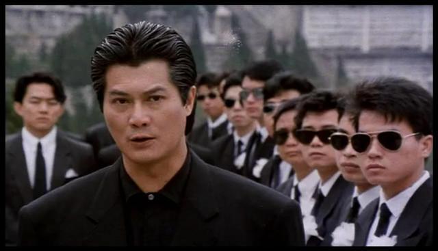 香港界黑白通吃,连向华强和周润发都得叫大哥,被爆逼图片