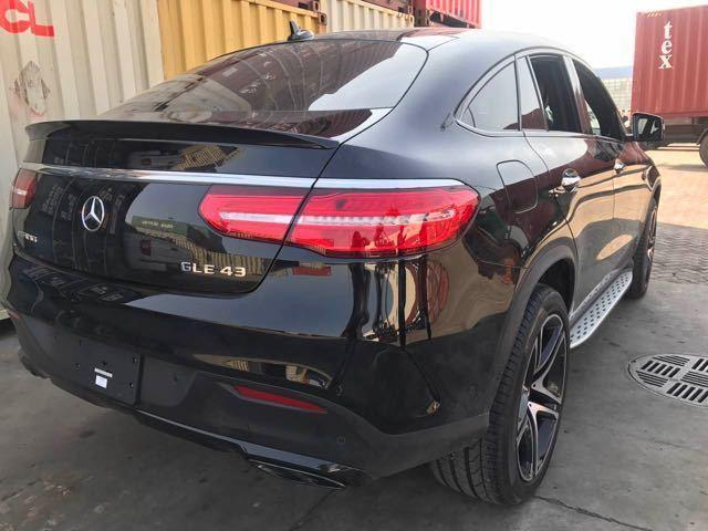 17款平行进口奔驰GLE43 AMG Coupe版配置详解