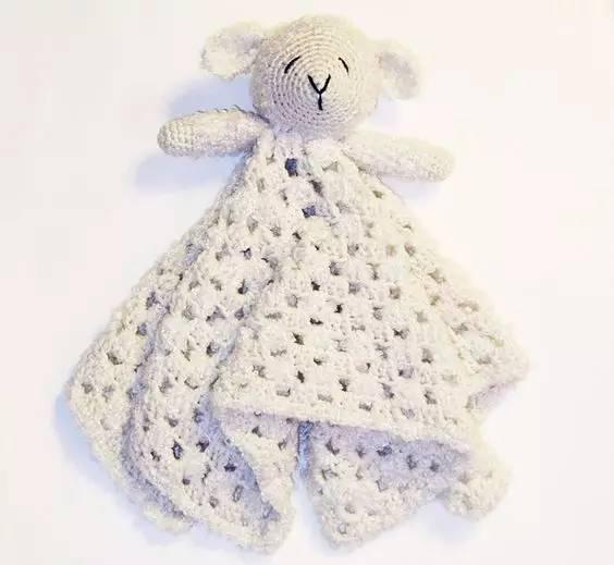 手工| 萌萌哒动物钩针毯,绝对让宝宝爱不释手