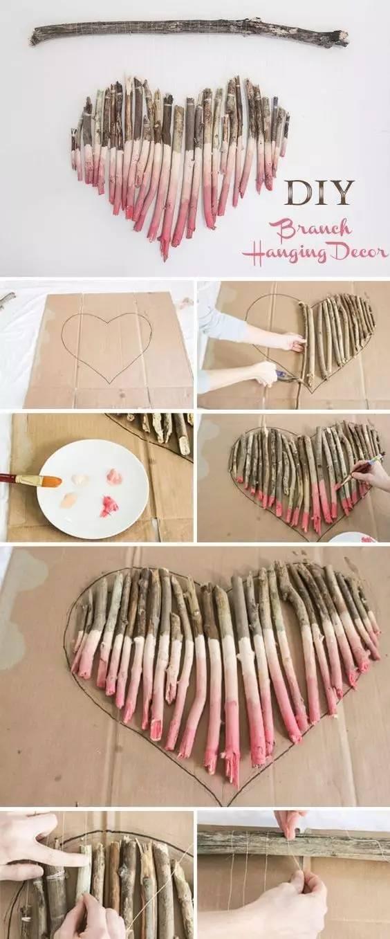 简单版卡纸心形折纸
