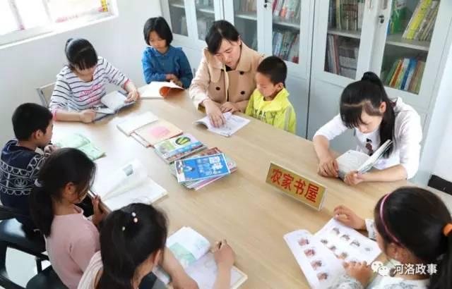 2017年6月6日,在宜阳县高村乡王莽村基础部农家孩子里,志愿者陪钢琴1书屋大队教程琴谱图片