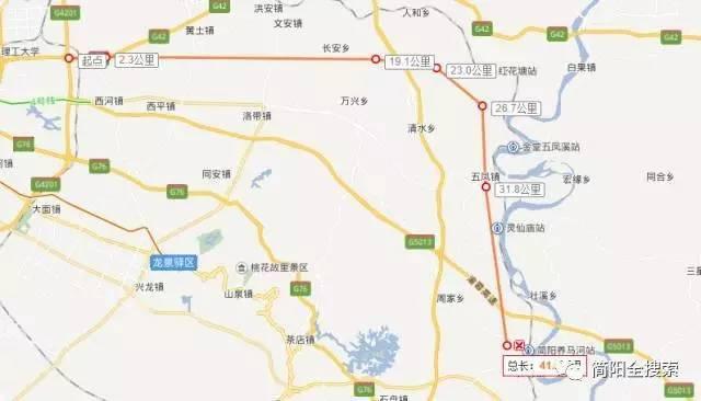 四川投资582亿修建8条快速路,5条道路将连接简阳