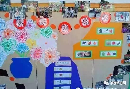 环境创设:秋天主题墙荟萃 让孩子们感受秋天的魅力图片