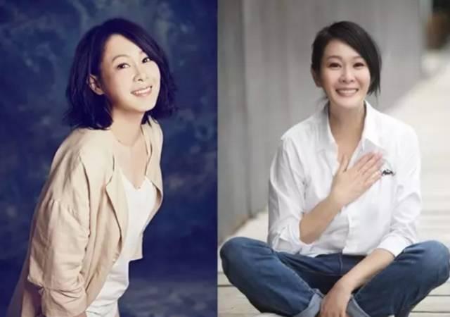 上月,刘若英在微博上发了一组照片.