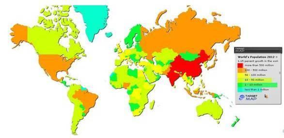 世界人口前十名_悲观者称地球90亿人口是极限