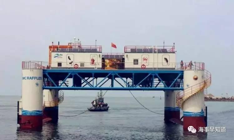 国内首座半潜式海洋牧场投入运营
