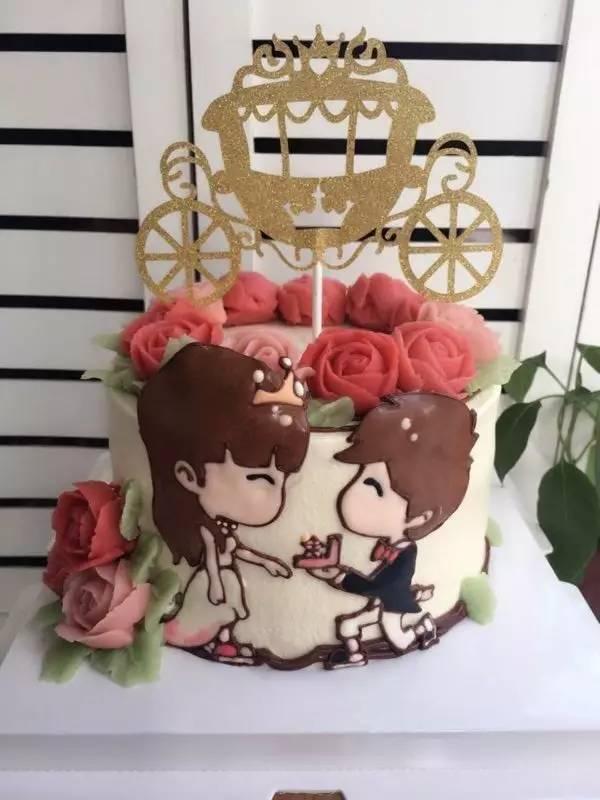 烘焙圈子:今年最流行的七夕节爆款蛋糕!浪漫到根本把持不住!图片