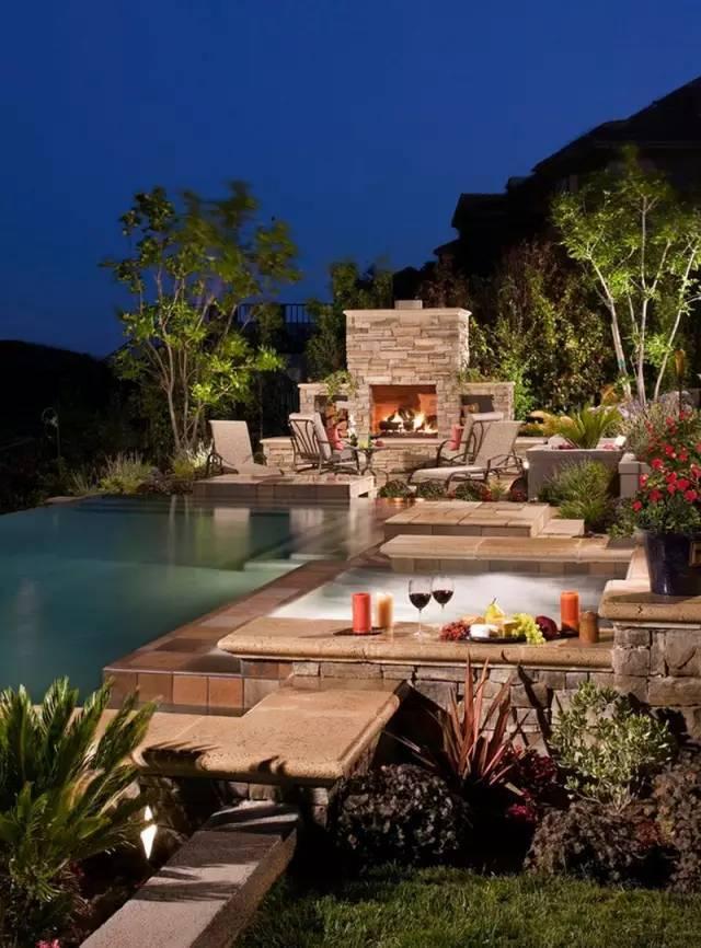 这样的庭院景观创意,太享受了